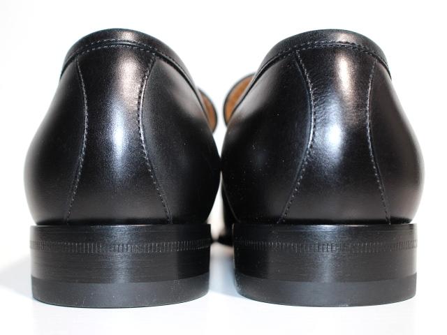 GUCCI グッチ 革靴 ビジネスシューズ メンズ8 約27cm ブラック レザー 407295 【200】 image number 4