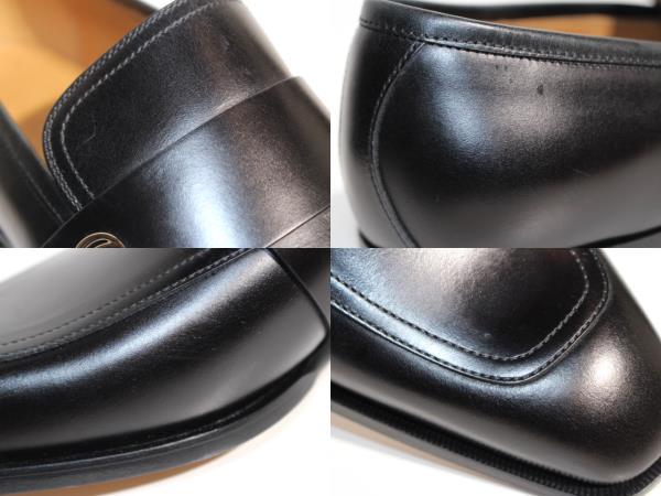 GUCCI グッチ 革靴 ビジネスシューズ メンズ8 約27cm ブラック レザー 407295 【200】 image number 6