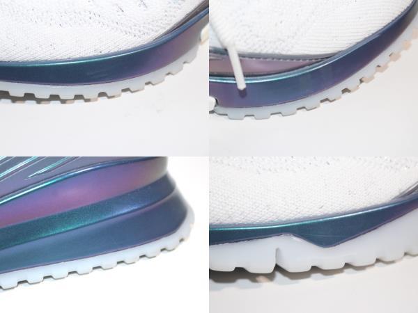 LOUIS VUITTON ルイ・ヴィトン スニーカー メンズ7 約26cm ホワイト ファブリック 【200】 image number 7