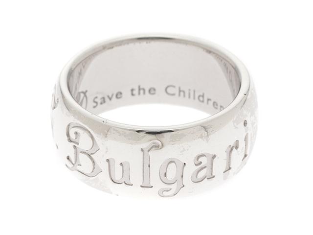 BVLGARI ブルガリ リング 指輪 セーブザチルドレンリング シルバー 52号 【474】
