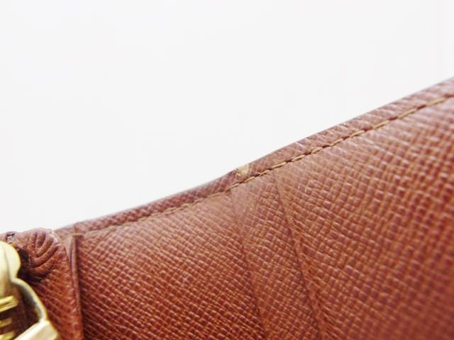 LOUIS VUITTON   ルイ・ヴィトン 二つ折り財布 ポルトフォイユ・トレゾール モノグラム 【435】 image number 6