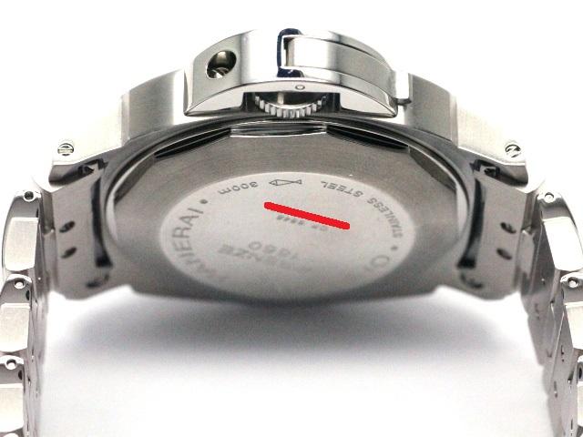 PANERAI パネライ ルミノールマリーナデイト PAM00220 OP6648 44mm At 自動巻き メンズ WM【472】 image number 4