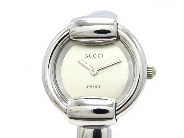 GUCCI グッチ 女性用腕時計 レディース 1400L ステンレス シルバー文字盤 クオーツ 電池式 【474】