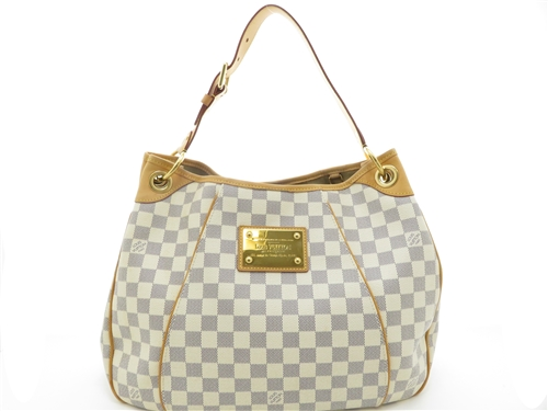 LOUIS VUITTON ルイヴィトン アズール ガリエラPM N55215 2008年頃製造品 made in France ワンショルダーバッグ レディース バック【204】