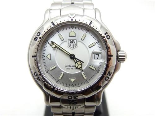 TAG HEUER タグホイヤー 時計 プロフェッショナル 6000 クオーツ WH1113-K 【432】
