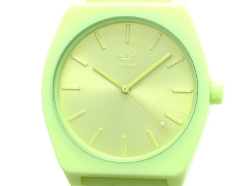 adidas アディダス 男性用腕時計 メンズ プロセスSP1 PROCESS_SP1 シリコン イエロー 【474】