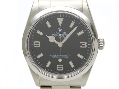 ROLEX ロレックス 時計 オートマチック エクスプローラー1 SS ステンレススチール 14270 【431】