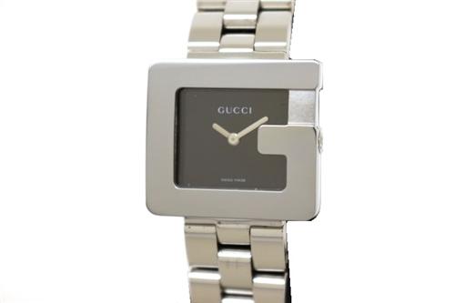 GUCCI グッチ 時計 3600L ブラック ステンレススチール クオーツ レディース 外装仕上げ済み 【200】