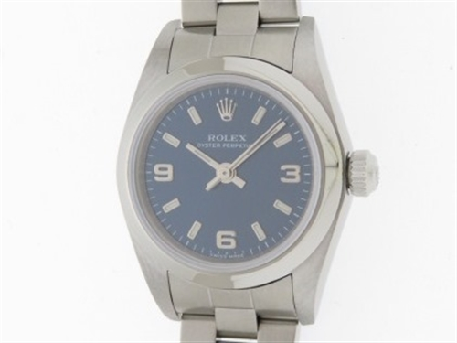 K番 ROLEX ロレックス 時計 オイスターパーペチュアル 76080 レディース SS ステンレス 自動巻き (2148103010507)【200】