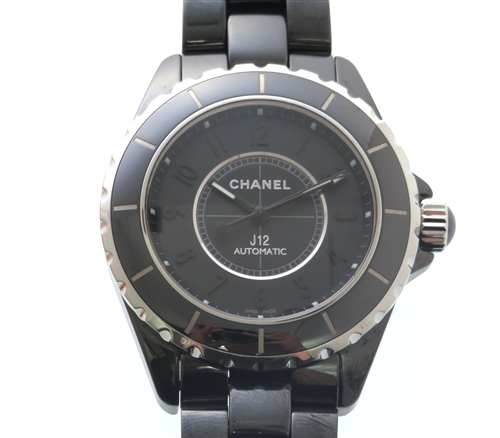 CHANEL シャネル J12 オートマチック H3828【204】