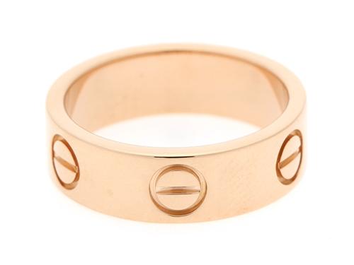 Cartier カルティエ リング 指輪 ラブリング ピンクゴールド 49号 6.1g 【430】