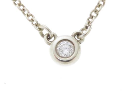 TIFFANY&CO ティファニー 貴金属・宝石 ネックレス バイザヤード シルバー ダイヤモンド 【430】