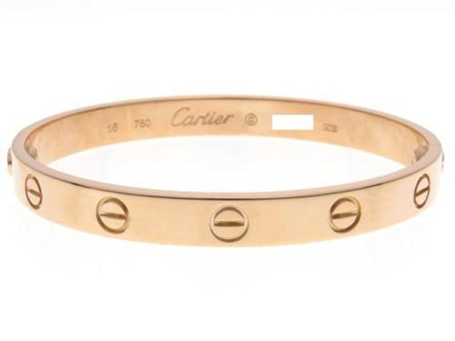Cartier カルティエ ラブブレス ブレスレット PG 28.8g #16【434】