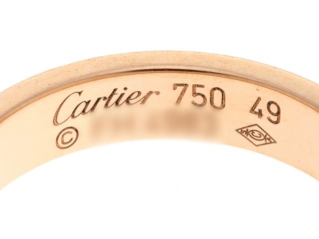 Cartier カルティエ  貴金属・宝石 B4085200  ミニラブリング  ミニラブR PG ピンクゴールド 49号 【430】 image number 2