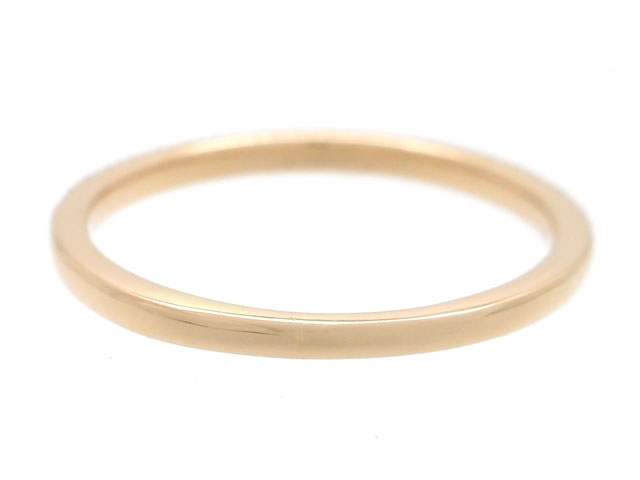 BVLGARI ブルガリ 貴金属・宝石 B-zero1 リング 指輪 XSサイズ 1バンド ビーゼロワン WG ホワイトゴールド 8.2g 60号 日本サイズ約20号 【200】 image number 3
