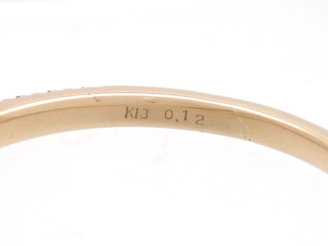 BVLGARI ブルガリ 貴金属・宝石 B-zero1 リング 指輪 XSサイズ 1バンド ビーゼロワン WG ホワイトゴールド 8.2g 60号 日本サイズ約20号 【200】 image number 5