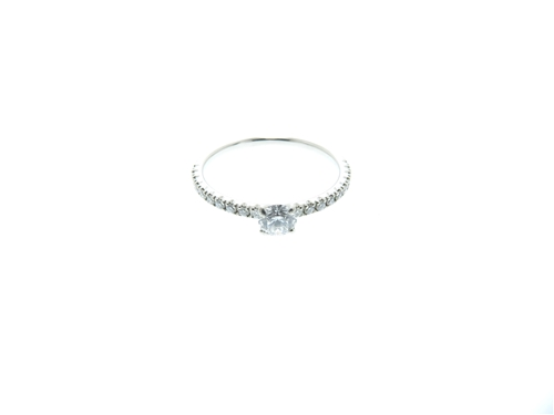 Cartier カルティエ 貴金属・宝石 リング エタンセルR プラチナPT950 ダイヤモンド0.19ct 48号 【460】 image number 0
