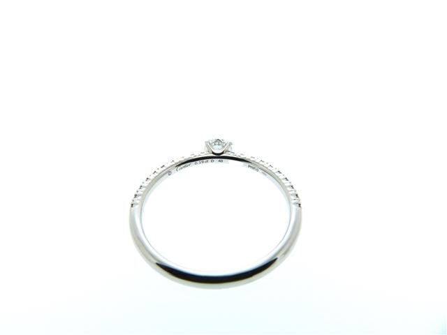 Cartier カルティエ 貴金属・宝石 リング エタンセルR プラチナPT950 ダイヤモンド0.19ct 48号 【460】 image number 3