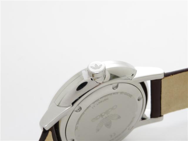 adidas アディダス ディストリクトL1 SS/革 Z082920-00 クオーツ時計【473】 image number 5