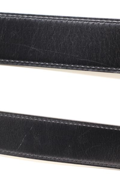 HERMES エルメス コンスタンスHベルト ベルト 小物 ブラック エトゥープ □P刻印 2012年 ボックスカーフ【200】 image number 6