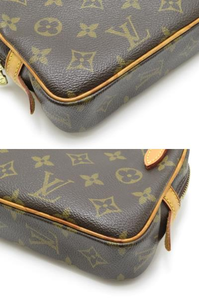 LOUIS VUITTON ルイヴィトン ショルダーバッグ M51828 ポシェット・マルリーバンドリエール モノグラム 【430】2148103251733 image number 3