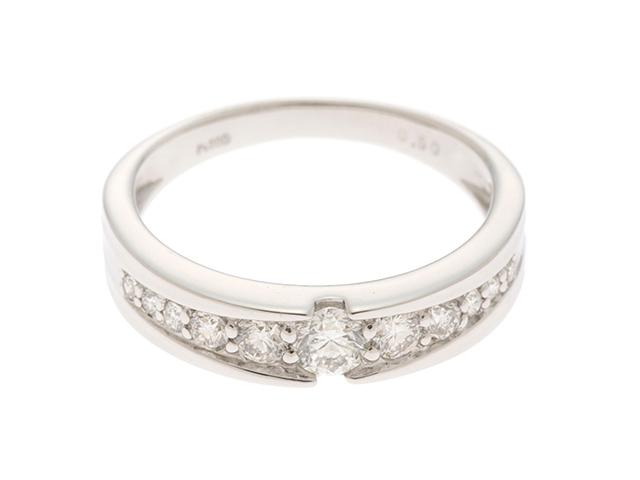 JEWELRY  ノンブランドジュエリー リング  指輪 PT900 プラチナ ダイヤモンド 0.5カラット 13号【430】2141000286303 image number 0