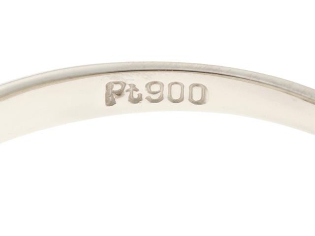 JEWELRY 貴金属・宝石 ノンブランド リング プラチナ900 ダイヤモンド0.13ct 9号 2.0g 【205】 image number 2