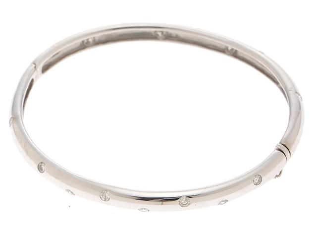 JEWELRY 貴金属・宝石 ブレスレット K18WG ホワイトゴールド ダイヤモンド 1.00ct 16.2g【413】