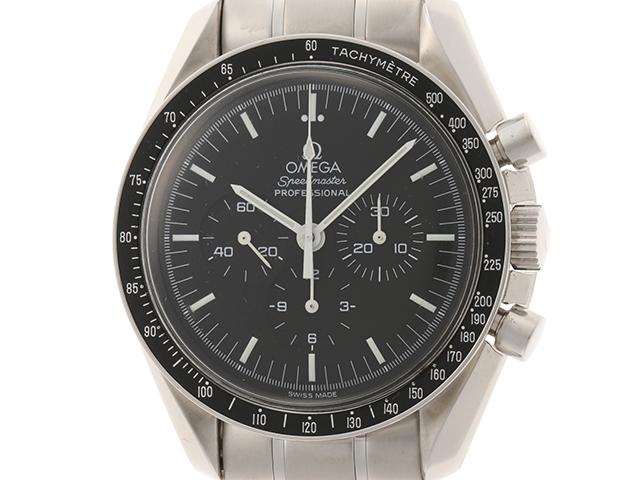 1999年8月並行ギャラ OMEGA オメガ 時計 3560.50 スピードマスター・アポロ11号30周年記念 メンズ ステンレス 手巻き 2143200385114【430】 image number 0