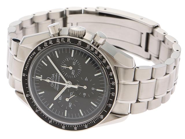 1999年8月並行ギャラ OMEGA オメガ 時計 3560.50 スピードマスター・アポロ11号30周年記念 メンズ ステンレス 手巻き 2143200385114【430】 image number 2