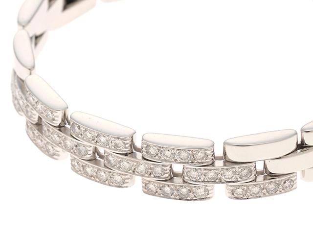 Cartier カルティエ マイヨンパンテール パヴェ ホワイトゴールド ダイヤモンド ブレスレット WG 35.4g 修理明細書【430】2147100349511 image number 3