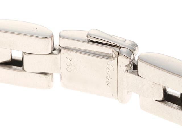 Cartier カルティエ マイヨンパンテール パヴェ ホワイトゴールド ダイヤモンド ブレスレット WG 35.4g 修理明細書【430】2147100349511 image number 0