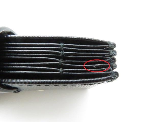 PRADA プラダ カードケース 小物 名刺入れ サフィアーノ カーフ ブラック 1MC211【473】 image number 6
