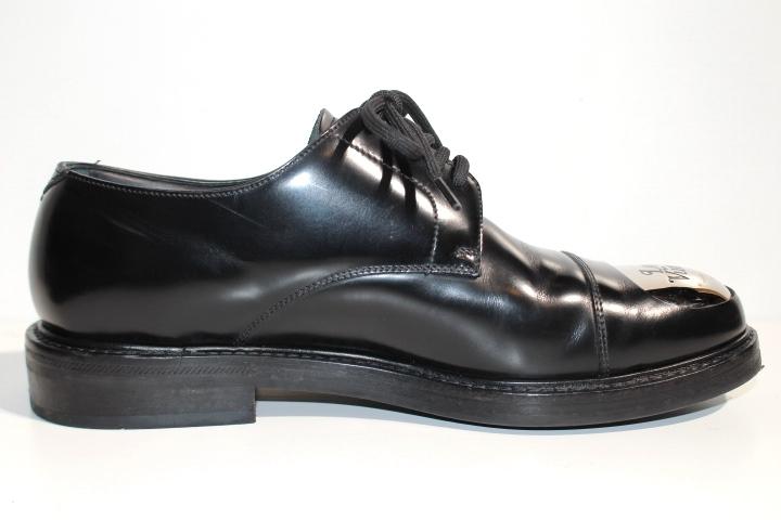 LOUIS VUITTON ルイヴィトン ヴォルテール・ライン リシュリュー 革靴 メンズ5ハーフ 約25cm ブラック レザー NIGOコラボ 2020年 定価¥¥159,500- image number 2