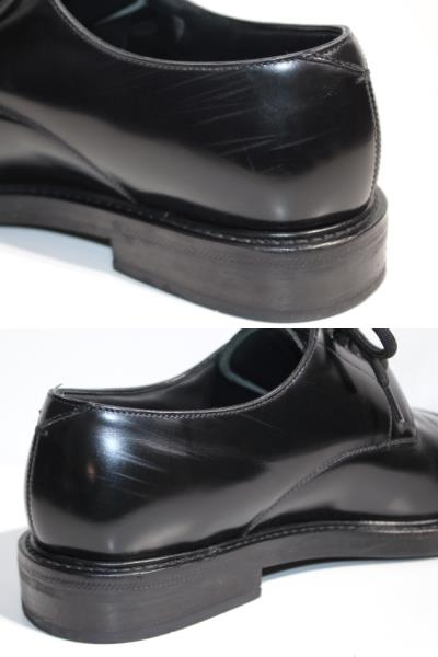 LOUIS VUITTON ルイヴィトン ヴォルテール・ライン リシュリュー 革靴 メンズ5ハーフ 約25cm ブラック レザー NIGOコラボ 2020年 定価¥¥159,500- image number 7