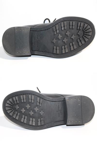 LOUIS VUITTON ルイヴィトン ヴォルテール・ライン リシュリュー 革靴 メンズ5ハーフ 約25cm ブラック レザー NIGOコラボ 2020年 定価¥¥159,500- image number 8