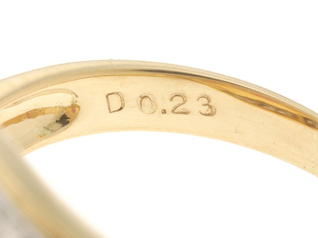 JEWELRY ノンブランドジュエリー デザイン リング 指輪 K18 ゴールド ルビー 0.58ct ダイヤモンド 0.23ct 13号 ソーティング付き 【460】 image number 3