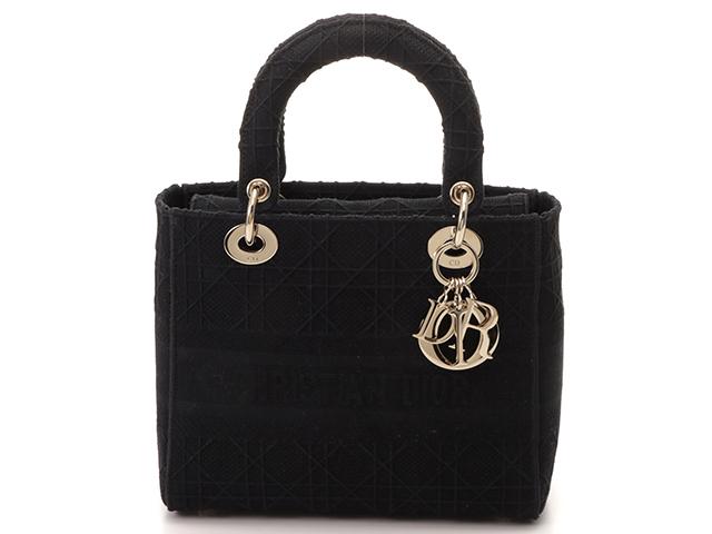 Dior ディオール レディディーライトミディアムカナージュ2Wayハンドバッグ 【430】 2148103247811