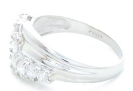 ノンブランドジュエリー ダイヤモンドリング プラチナ850 ダイヤモンド0.57ct 全体重量約3.9g 12号 【205】 image number 1