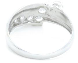 ノンブランドジュエリー ダイヤモンドリング プラチナ850 ダイヤモンド0.57ct 全体重量約3.9g 12号 【205】 image number 3