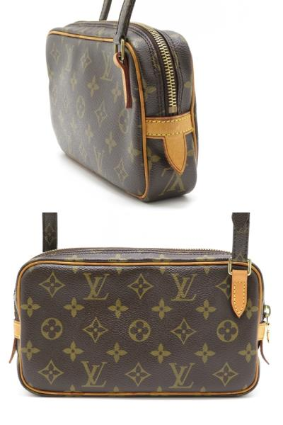 LOUIS VUITTON ルイヴィトン ショルダーバッグ M51828 ポシェット・マルリーバンドリエール モノグラム 【430】2148103251733 image number 1