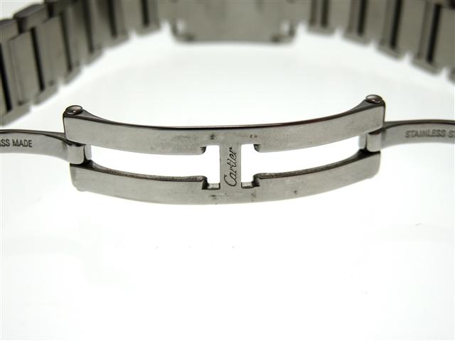 Cartier カルティエ タンクフランセーズSM W51008Q3 SS ホワイト文字盤 レディース クオーツ 【436】 image number 4