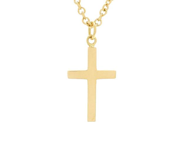 GUCCI グッチ 貴金属・宝石 ネックレス クロス 十字架 K18 イエローゴールド 8.8g (2147000135061) 【200】 image number 0