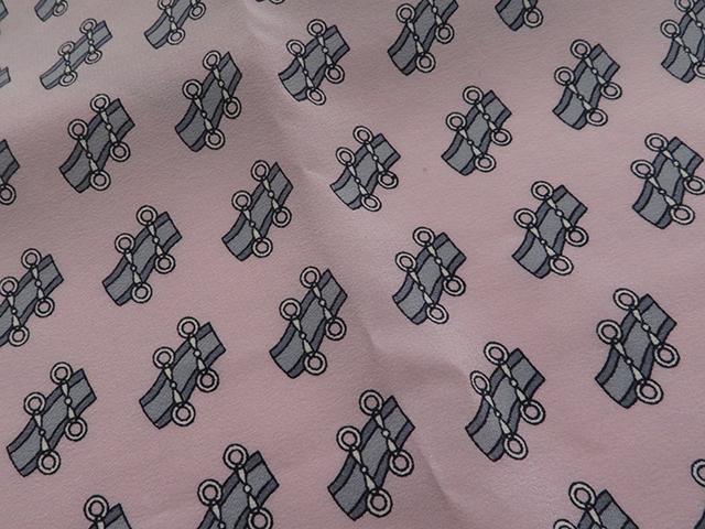 CELINE  セリーヌ スカーフ ピンク 【430】2143800128029