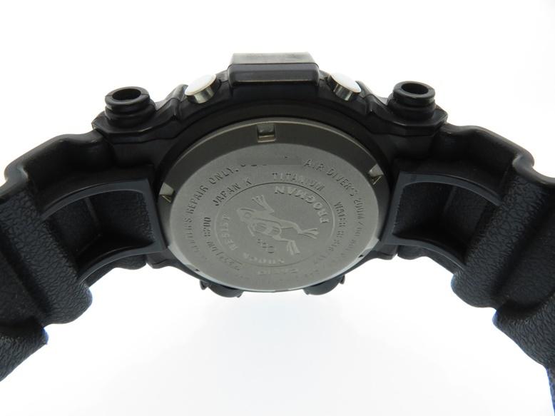 CASIO カシオ G-SHOCK FROGMAN Gショック フロッグマン DW-8200WC-7A ブラック TI/樹脂 チタン クオーツ デジタル メンズウォッチ 時計【204】 image number 3