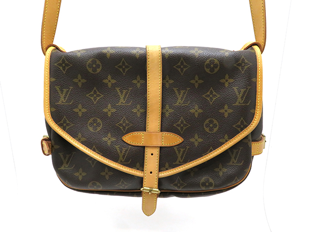 LOUIS VUITTON  ルイヴィトン ソミュール30 モノグラム  ショルダーバッグ MB0045 【430】 image number 0