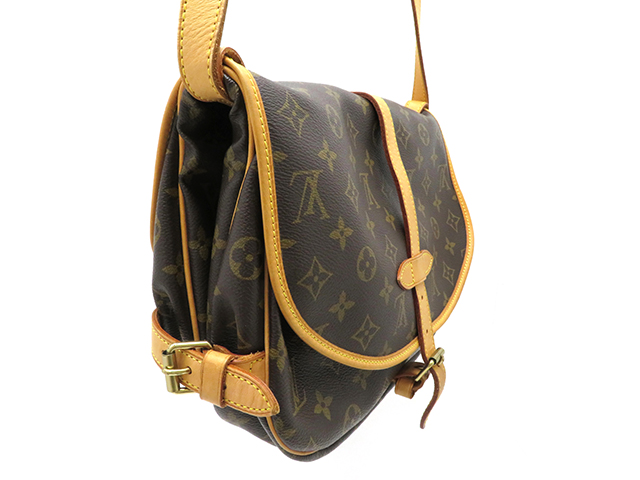 LOUIS VUITTON  ルイヴィトン ソミュール30 モノグラム  ショルダーバッグ MB0045 【430】 image number 1