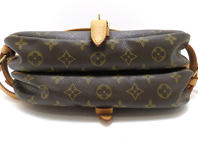 LOUIS VUITTON  ルイヴィトン ソミュール30 モノグラム  ショルダーバッグ MB0045 【430】 image number 2