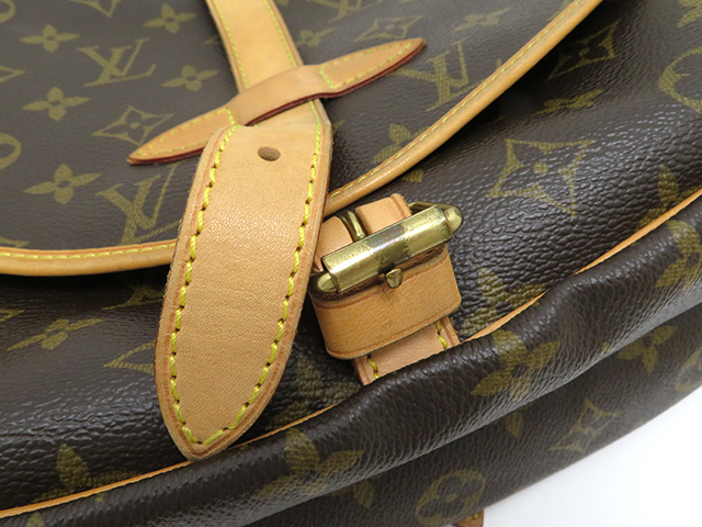LOUIS VUITTON  ルイヴィトン ソミュール30 モノグラム  ショルダーバッグ MB0045 【430】 image number 5