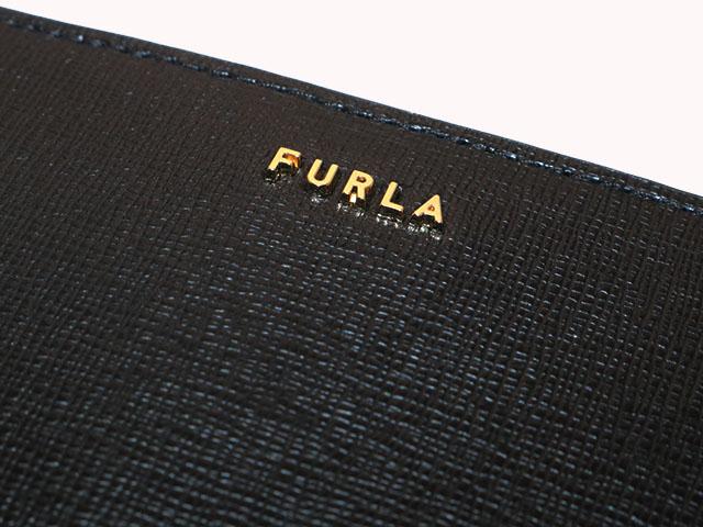 FURLA フルラ バビロン 二つ折り財布 ブラック レザー 1057023 【433】 image number 3